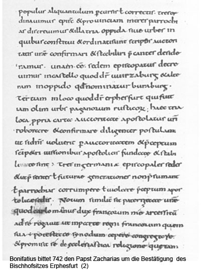 Bonifatius Brief