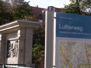 Luther-Denkmal am Lutherweg