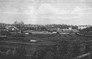 Der Dreienbrunnen 1886