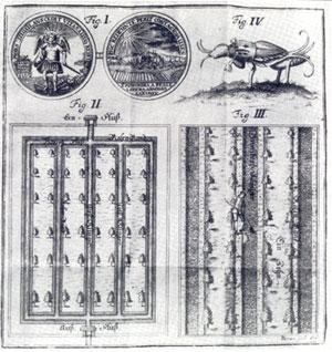 Klingensystem und Arbeit an einer Klinge nach Reichart